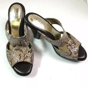 Euro Soft By Sofft Ladies Sandals Size 8 M